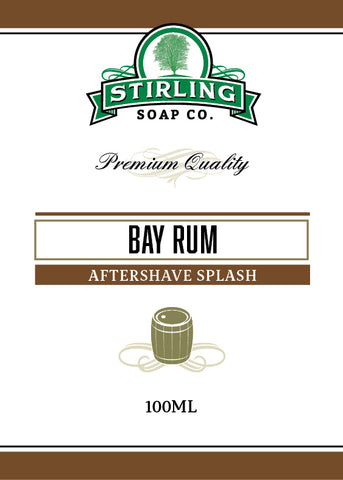 Bay Rum - 100ml Aftershave Splash