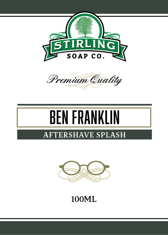Ben Franklin - 100ml Aftershave Splash