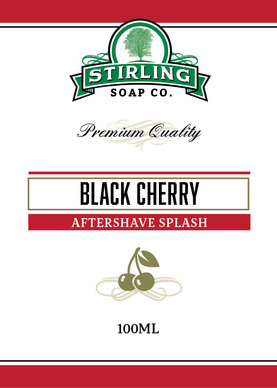 Black Cherry - 100ml Aftershave Splash