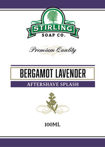 Bergamot Lavender - 100ml Aftershave Splash