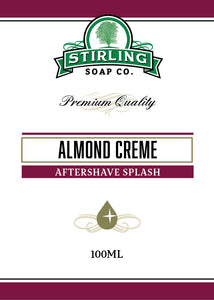 Almond Creme - 100ml Aftershave Splash