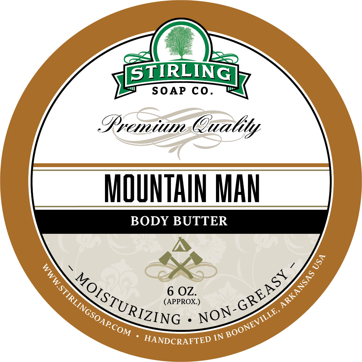 Mountain Man - Body Butter