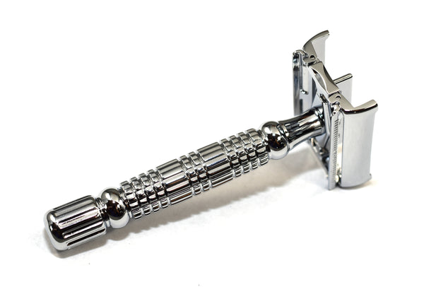 Baili Chrome Twist-to-Open DE Razor (BR179)