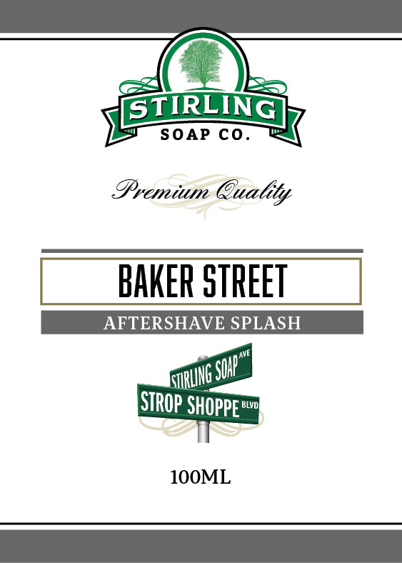 Baker Street - 100ml Aftershave Splash