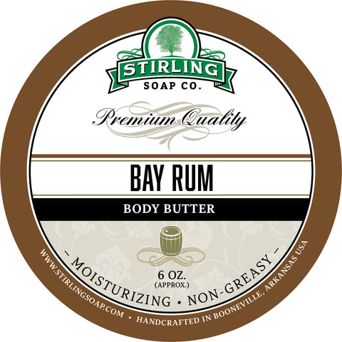 Bay Rum - Body Butter