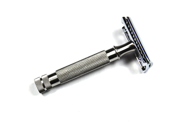 Stainless Steel Handle DE Razor (DE3P1S)