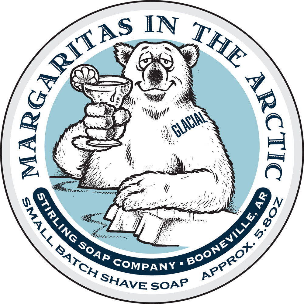 Glacial, Margaritas in the Arctic - Shave Soap (Jar Size Only)