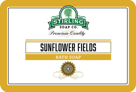 Sunflower Fields - Bath Soap