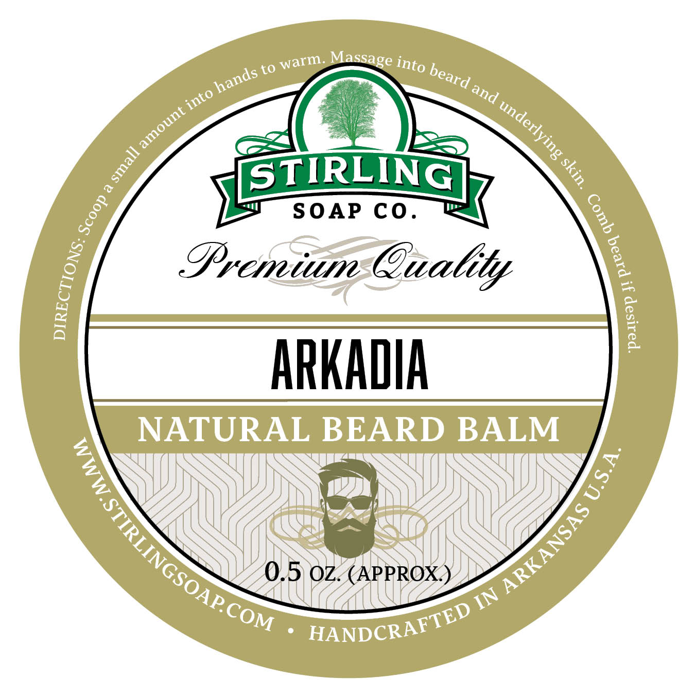 Arkadia Beard Balm - 1/2oz