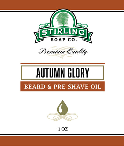 Autumn Glory (1oz)- Beard & Pre-Shave Oil