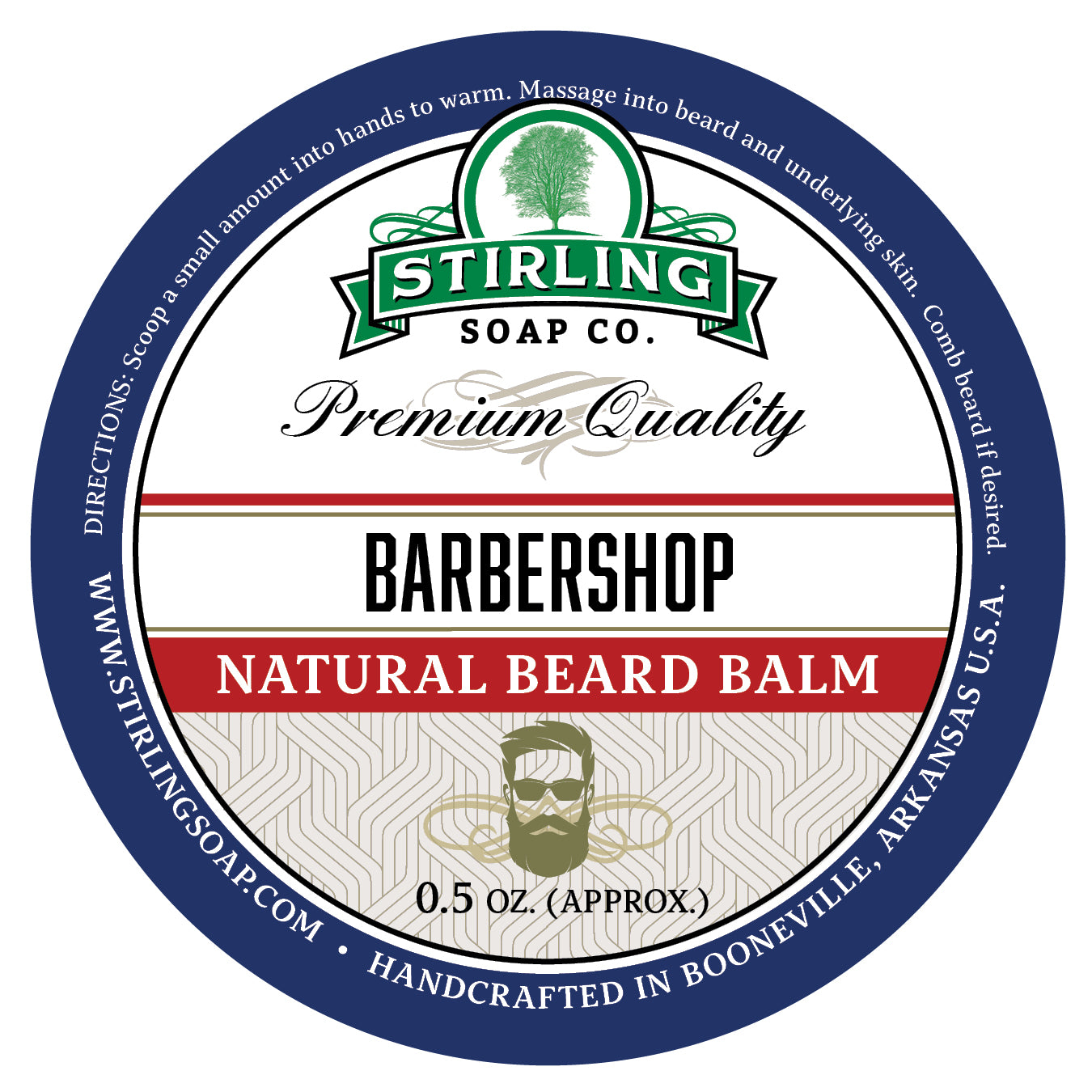 Barbershop Beard Balm - 1/2oz