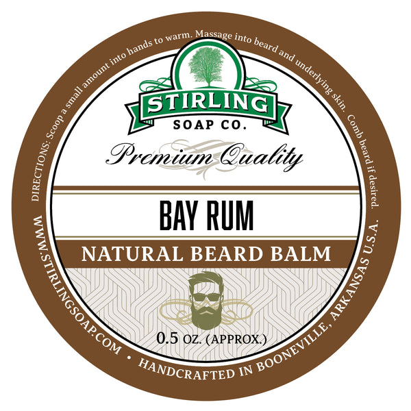 Bay Rum Beard Balm - 1/2oz