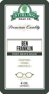 Ben Franklin - Post-Shave Balm