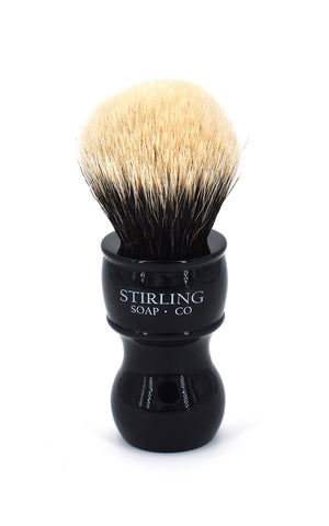 2-Band Finest Badger Shave Brush - 24mm x 53mm (Black)