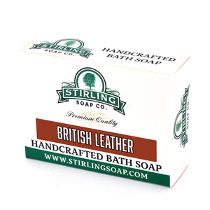 British Leather - Bath Soap