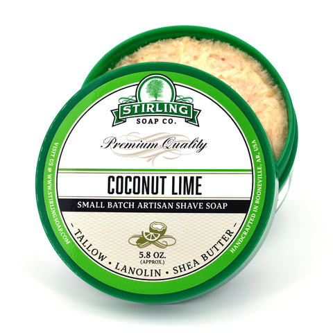 Coconut Lime - Shave Soap