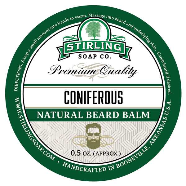 Coniferous Beard Balm - 1/2oz