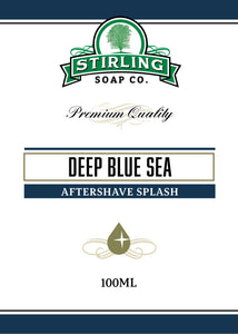 Deep Blue Sea - 100ml Aftershave Splash