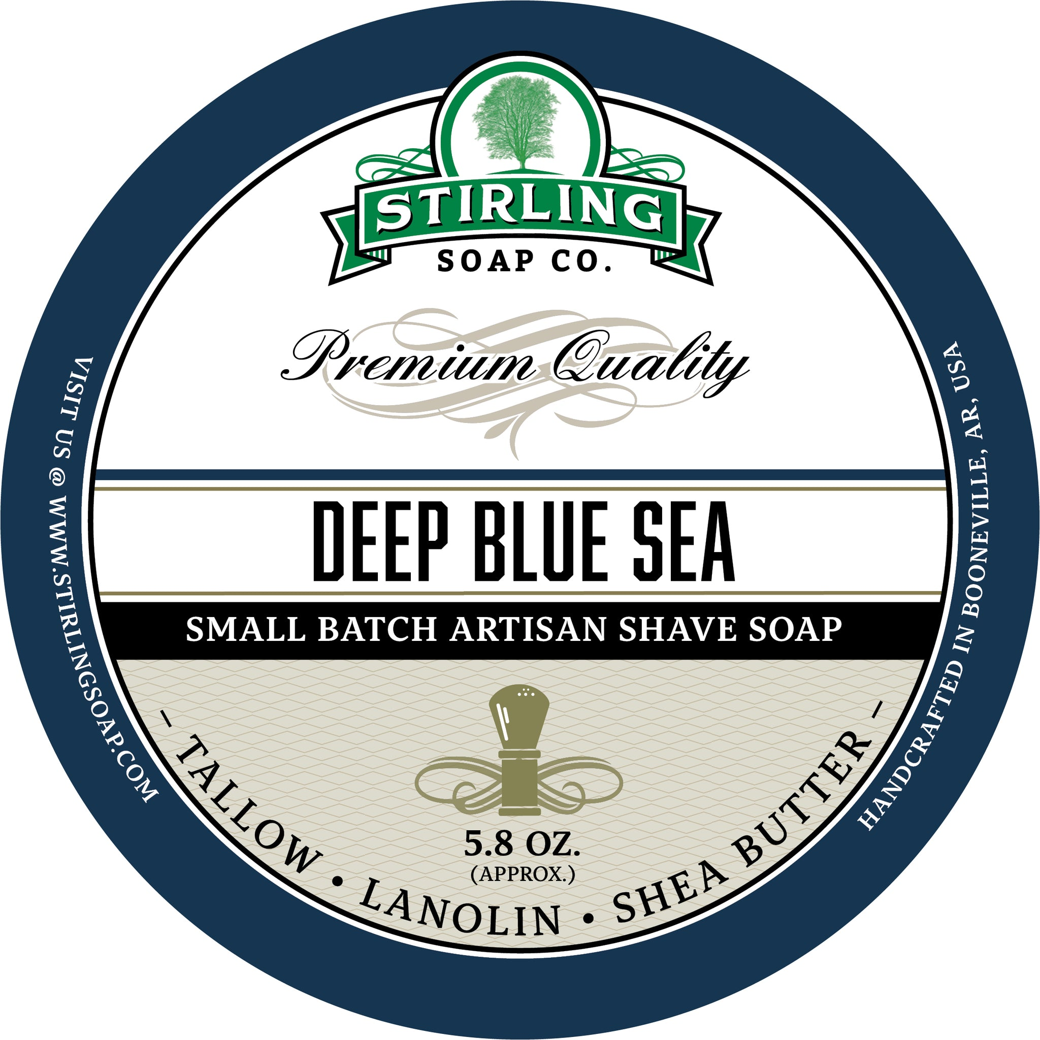 Deep Blue Sea - Shave Soap