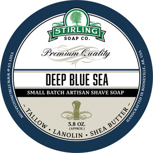 Deep Blue Sea - Shave Jar