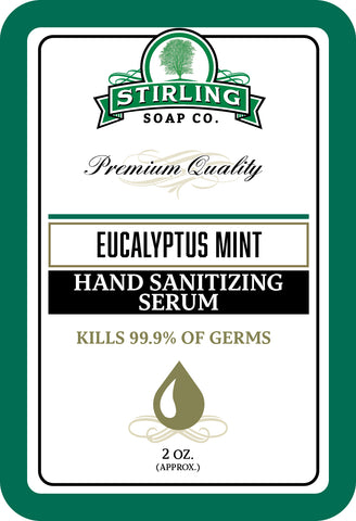 Eucalyptus Mint - Hand Sanitizing Serum (2oz Squeeze Bottle)