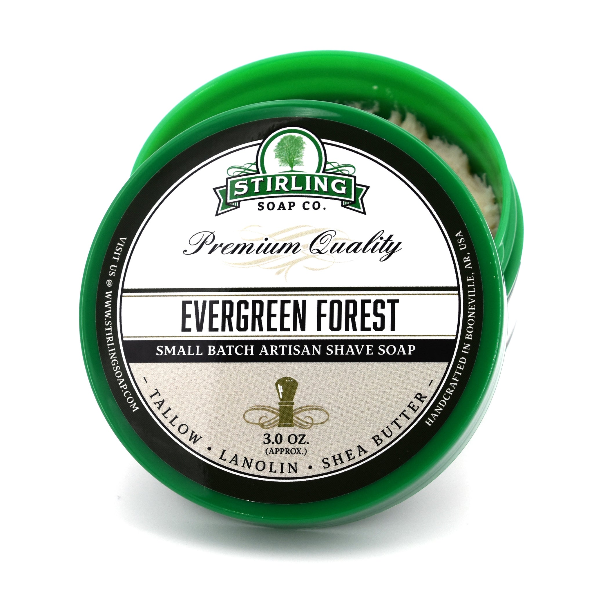 Evergreen Forest - Shave Soap (3oz)
