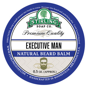 Executive Man Beard Balm - 1/2oz
