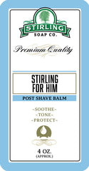 Stirling For Him - Post-Shave Balm