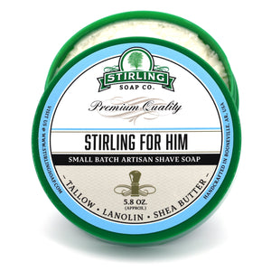 Stirling For Him - Shave Jar (5.8oz)