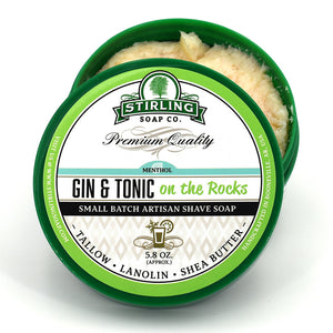 Gin & Tonic on the Rocks - Shave Soap