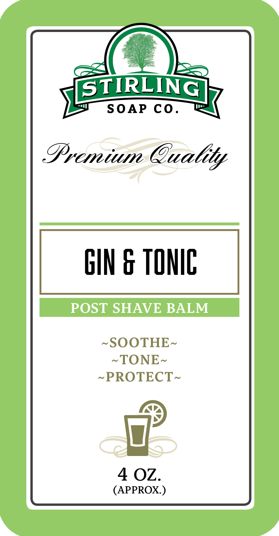 Gin & Tonic - Post-Shave Balm