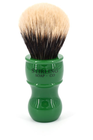 2-Band Finest Badger Shave Brush - 24mm x 53mm (Green)