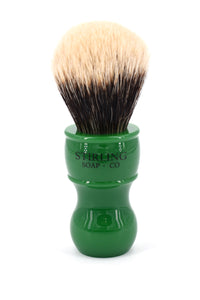 2-Band Finest Badger Shave Brush - 24mm x 57mm (Green)