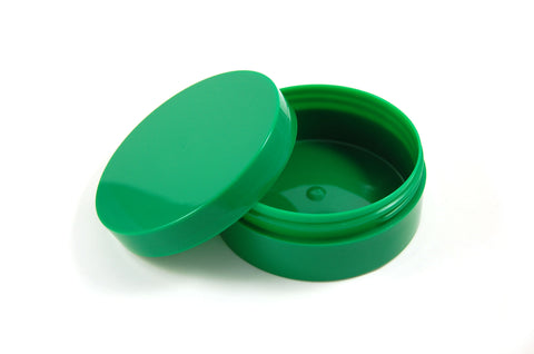 Green Thick Wall Shave Jar - 6oz