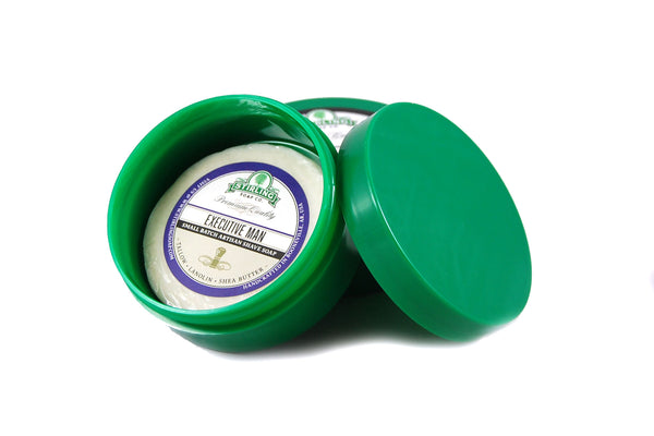 Green Thick Wall Shave Jar - 4oz