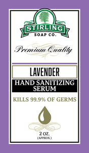 Lavender - Hand Sanitizing Serum (2oz Squeeze Bottle)