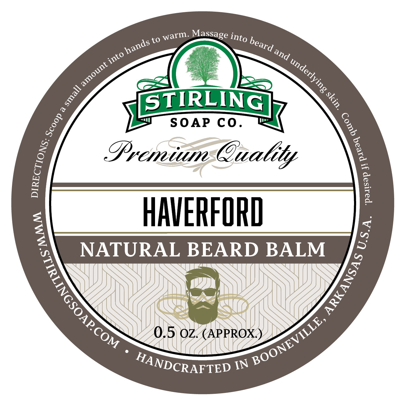 Haverford Beard Balm - 1/2oz