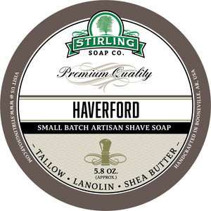 Haverford - Shave Jar