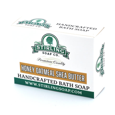 Honey Oatmeal Shea Butter - Bath Soap
