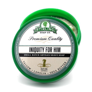 Iniquity for Him - Shave Soap (3oz)