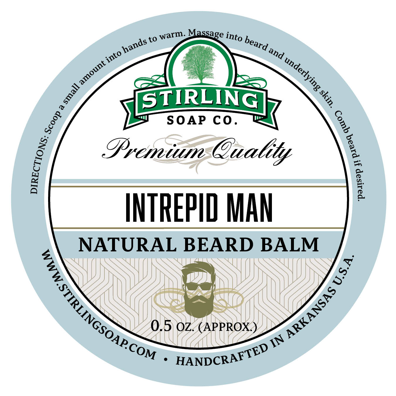 Intrepid Man Beard Balm - 1/2oz