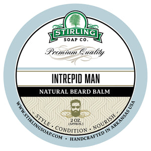 Intrepid Man Beard Balm - 2oz