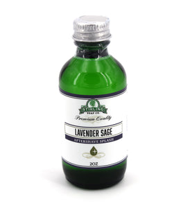 Lavender Sage - Aftershave Splash (2oz)