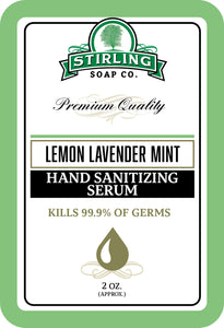 Lemon Lavender Mint - Hand Sanitizing Serum (2oz Squeeze Bottle)
