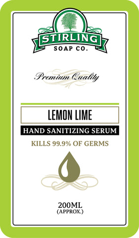 Lemon Lime - Hand Sanitizing Serum (200ml Pump Bottle)