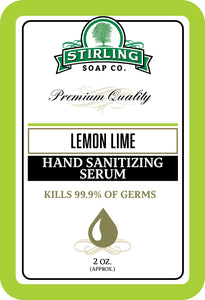 Lemon Lime - Hand Sanitizing Serum (2oz Squeeze Bottle)