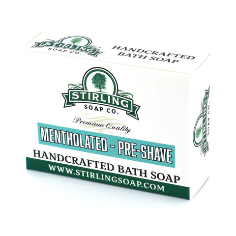 Mentholated - Pre-Shave Soap