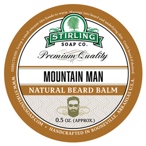 Mountain Man Beard Balm - 1/2oz