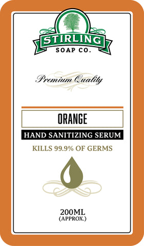 Orange - Hand Sanitizing Serum (200ml Pump Bottle)