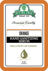 Orange - Hand Sanitizing Serum (2oz Squeeze Bottle)